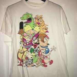 90's Cartoon montage T-shirt